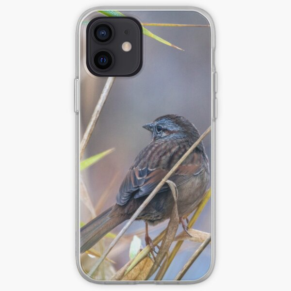 Winter Sparrow iPhone Soft Case