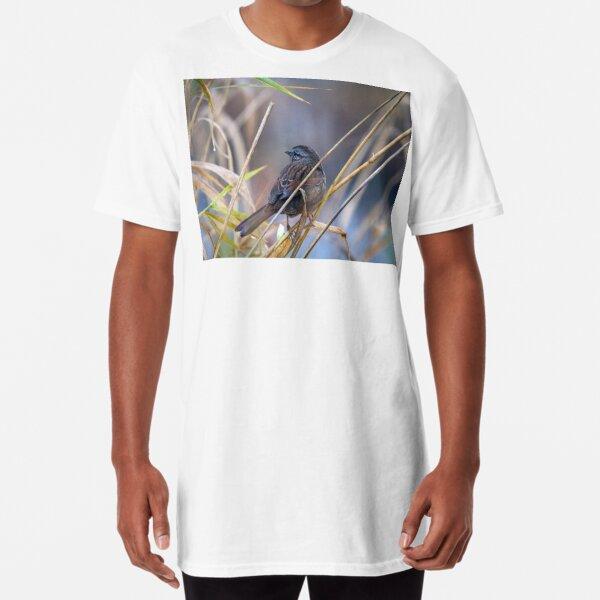 Winter Sparrow Long T-Shirt