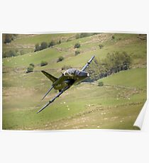 Hawk T1a XX195 approaching CAD West Poster