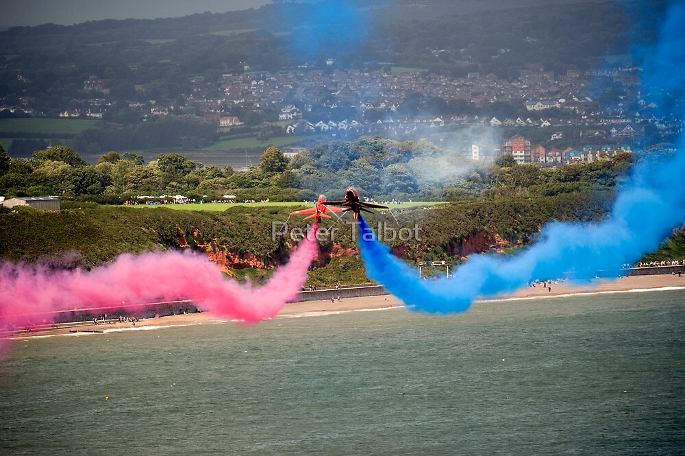 Red Arrows at Dawlish Airshow, August 2009 by Peter Talbot