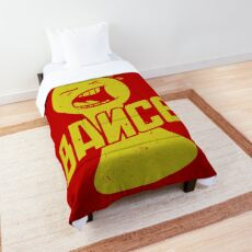 BANCE! (Flip the Table) Comforter