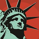 Lady Liberty by Paul Mitchell