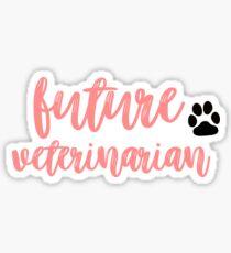 Future Veterinarian  Sticker