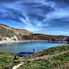 Lulworth Cove by Clive