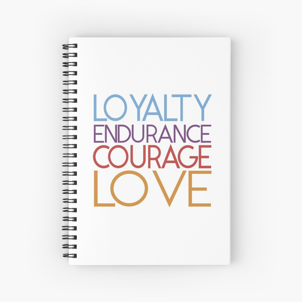 JW Convention Themes  Spiral Notebook