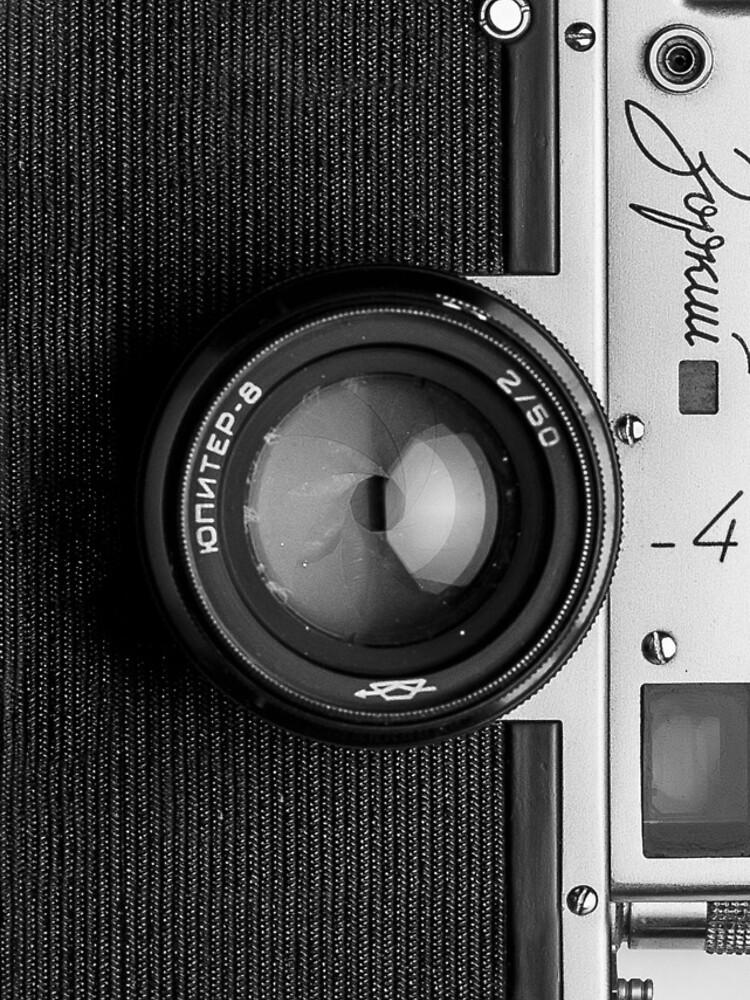 Classic vintage camera | retro photographer nostalgia by danteartist