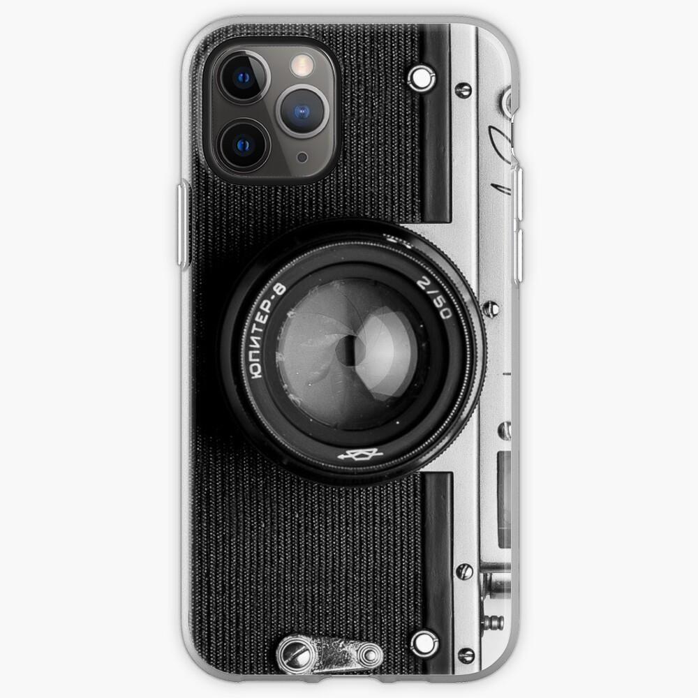 Classic vintage camera | retro photographer nostalgia iPhone Case & Cover