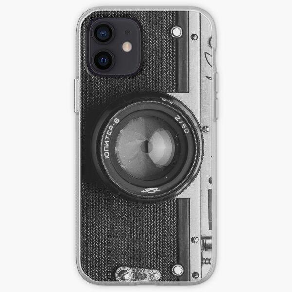 Classic vintage camera   retro photographer nostalgia iPhone Soft Case