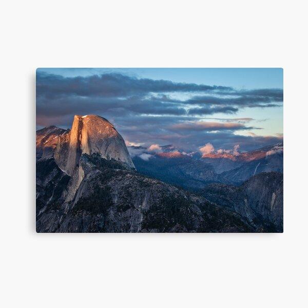 Glacier Point Sunset Canvas Print