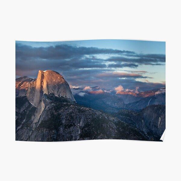 Glacier Point Sunset Poster
