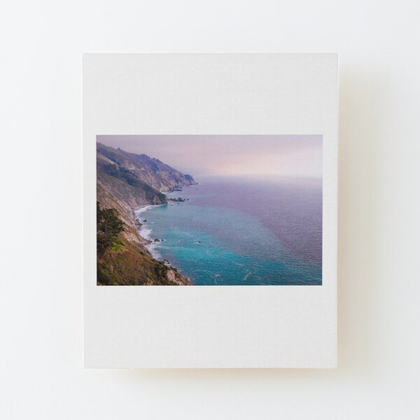 0743 California Pacific Coast Road Trip - Summer Vacation Landscape Scenic Art Wood Mounted Print