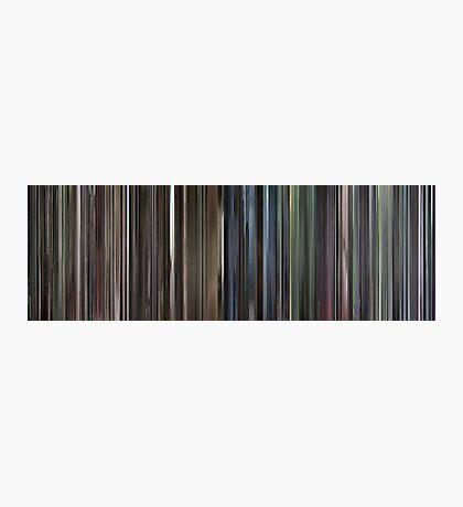 Moviebarcode: Requiem for a Dream (2000) Photographic Print