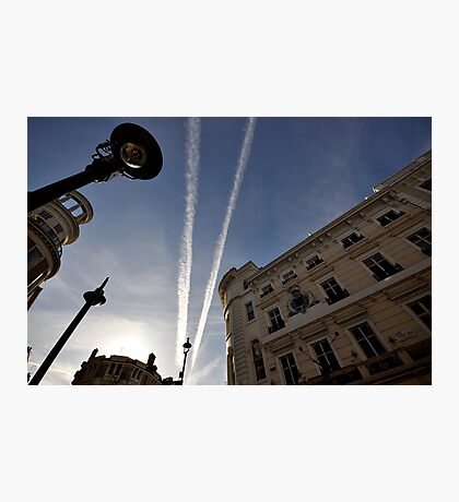 Jets over the city  Photographic Print