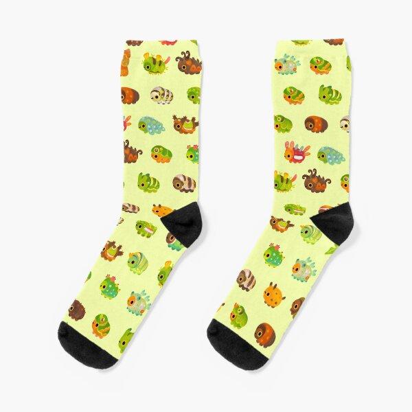 Caterpillar Socks