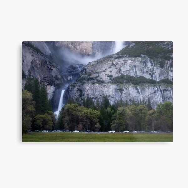 Cook's Meadow and Yosemite Falls, Twilight Metal Print