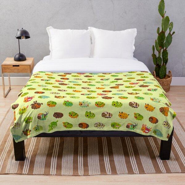 Caterpillar Throw Blanket