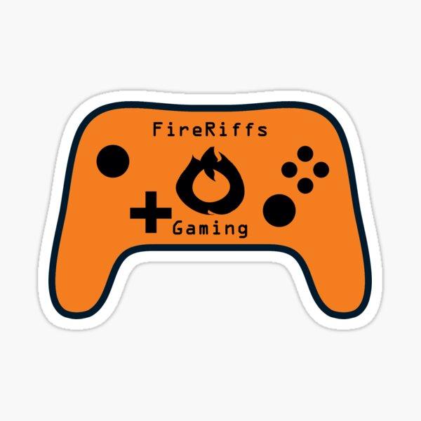 FireRiffs Gaming Logo Sticker