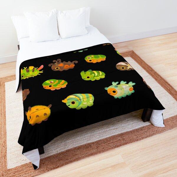 Caterpillar - dark Comforter