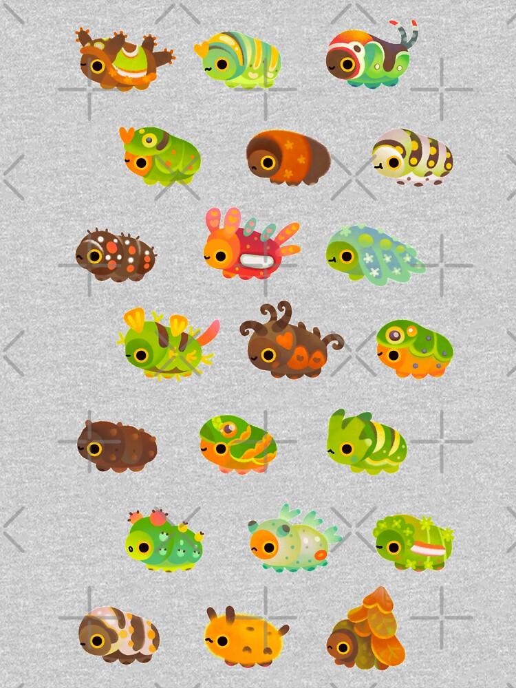 Caterpillar - dark by pikaole