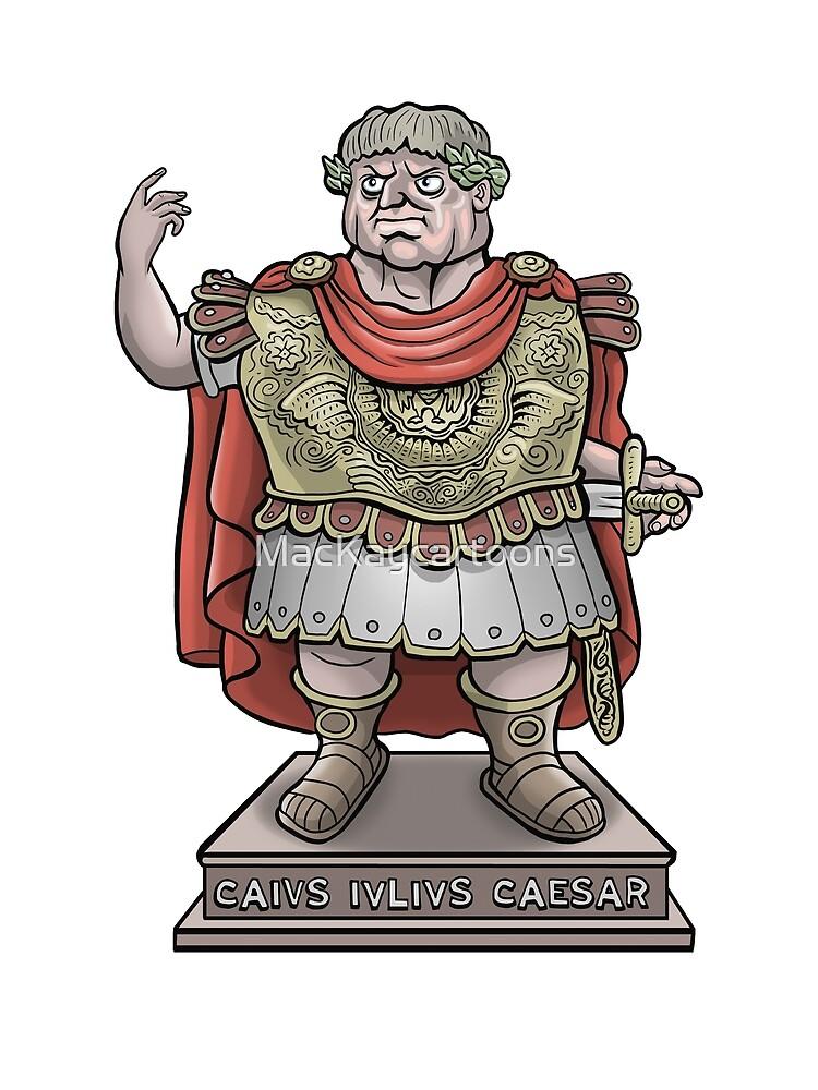 Julius Caesar by MacKaycartoons