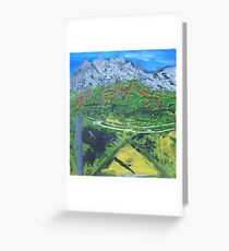 Queenstown Tasmania BrightDay Greeting Card