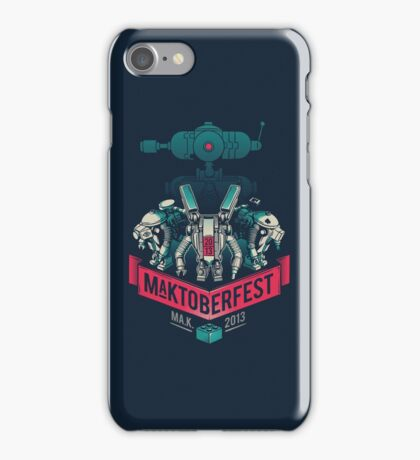MaKtoberfest 13 iPhone Case/Skin