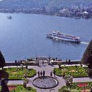 Formal garden, Villa Carlotta, Lake Como, Italy by johnrf