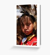 Youthful Tradition Greeting Card