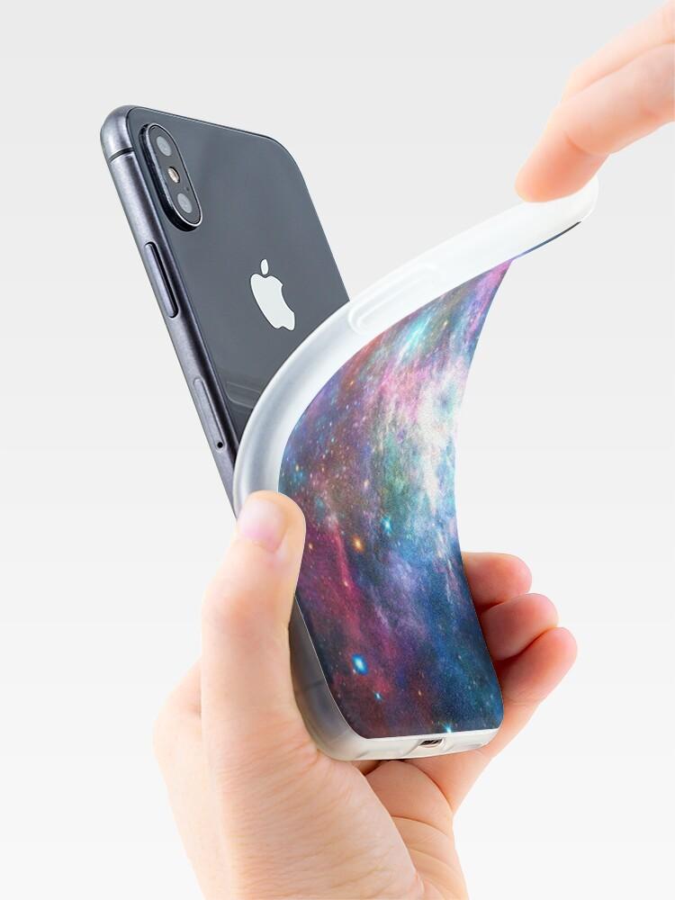 Alternate view of Nebula Galaxy Print iPhone Case & Cover