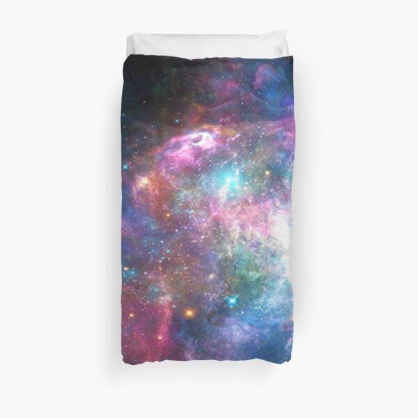 Nebula Galaxy Print Duvet Cover