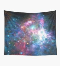 Nebula Galaxy Print Wall Tapestry