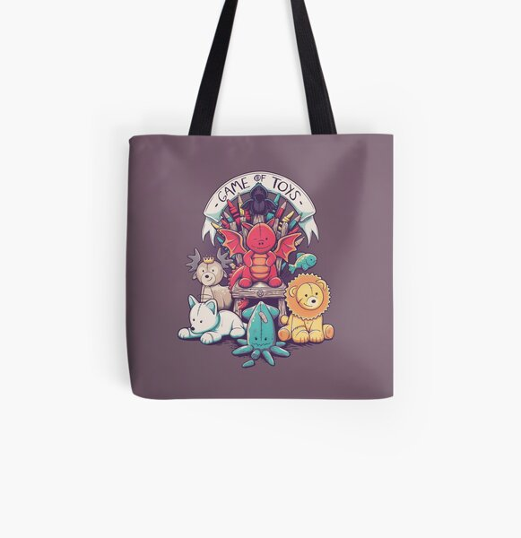 Game Of Toys All Over Print Tote Bag