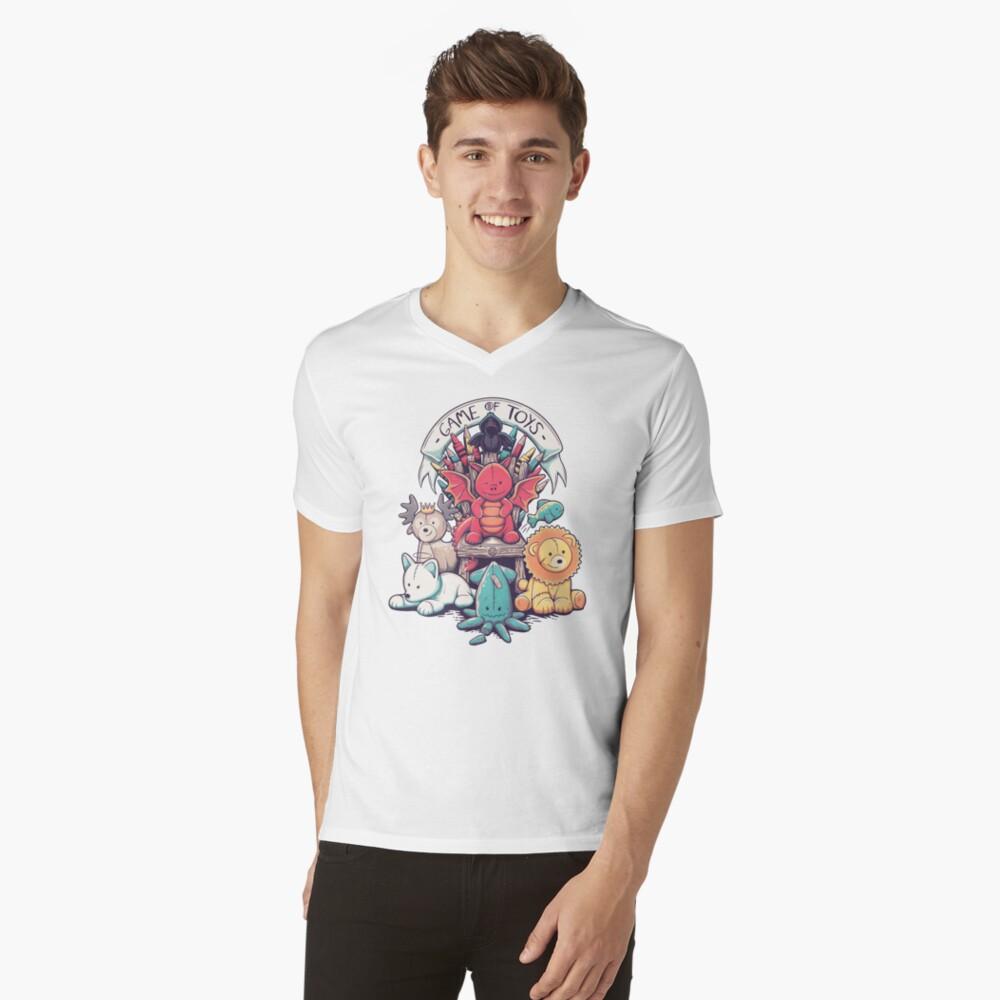 Game Of Toys V-Neck T-Shirt