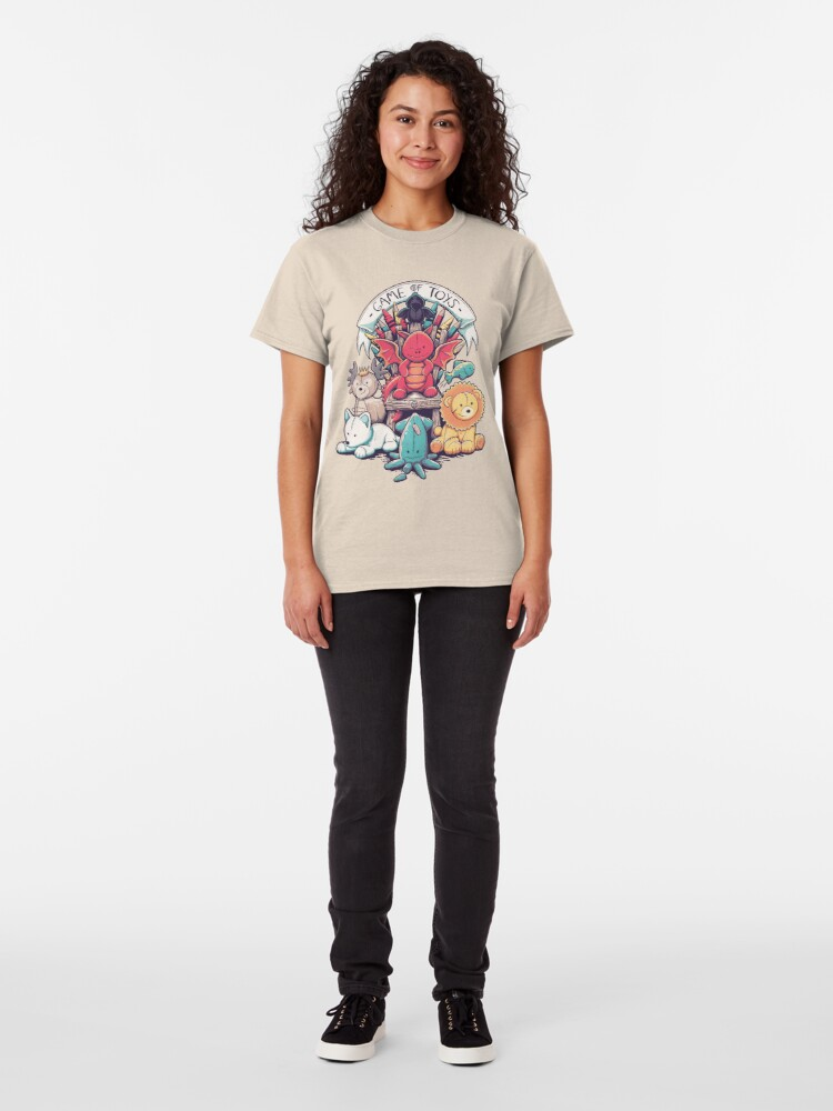 Alternate view of Game Of Toys Classic T-Shirt