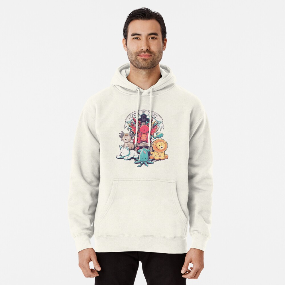 Game Of Toys Pullover Hoodie