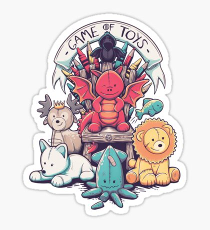 Game Of Toys Sticker