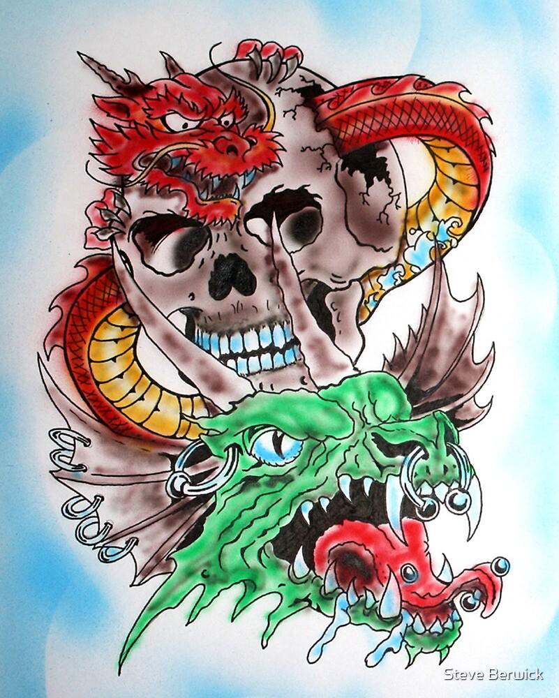 Skull Dragons by Steve Berwick