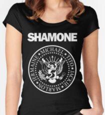 Camiseta entallada de cuello redondo SHAMONE