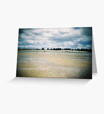 Holga Beach shot - Tasmania Australia Greeting Card