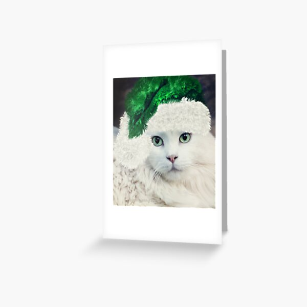 Christmas Portrait Greeting Card