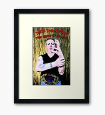 """Dirty"" Dan Hanson - Master of the Claw! Framed Print"