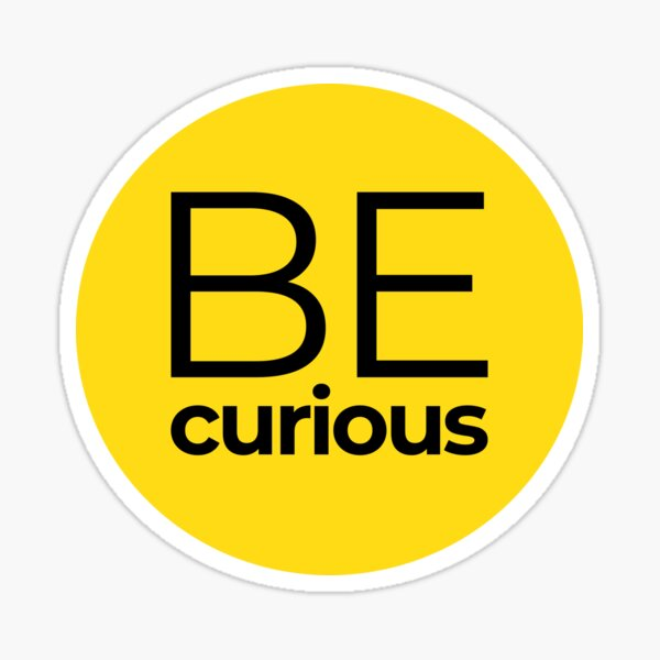 Be Curious I Misskoko the Librarian Sticker