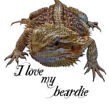i love my beardie by crasher59