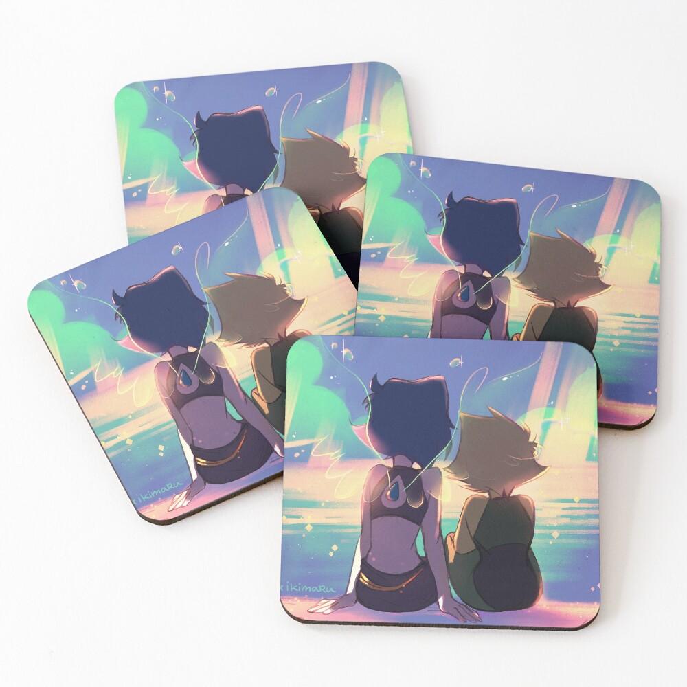 Clear Skies Coasters (Set of 4)