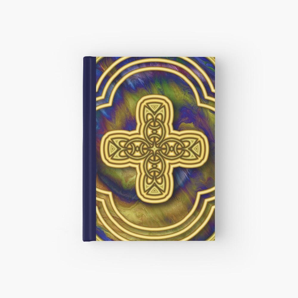 Gold Cross Hardcover Journal