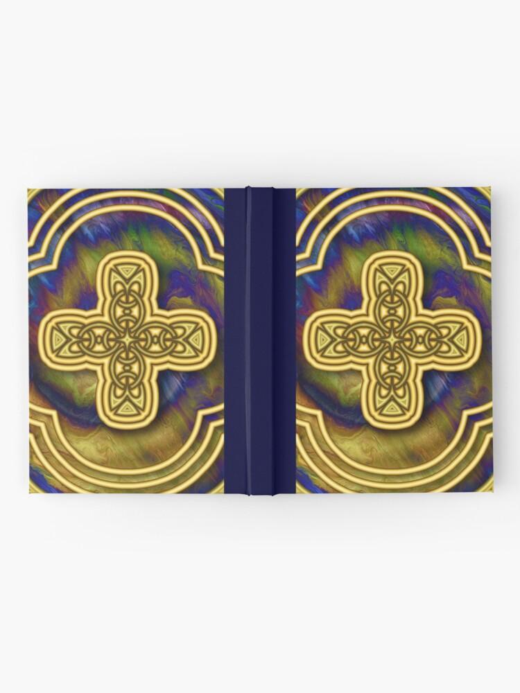 Alternate view of Gold Cross Hardcover Journal