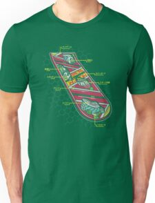 Hover Board Anatomy Unisex T-Shirt