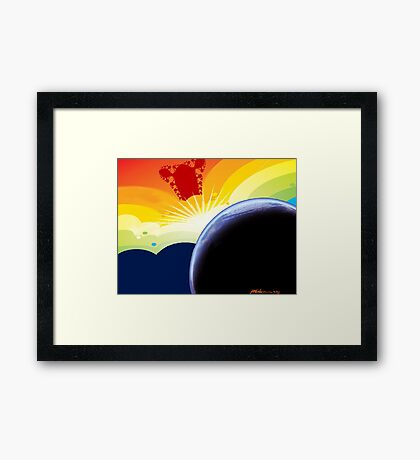 """Betelgeuse Visiting"" Framed Print"