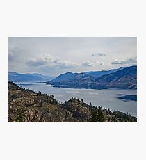 Okanagan Lake from the Park Photographic Print
