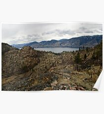 Okanagan Mountain Park View Poster